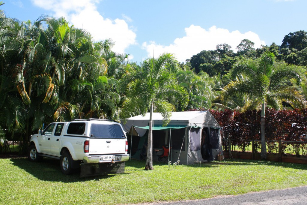 Camping Site Lake Placid Tourist Park Cairns 1